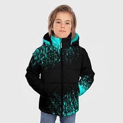 Куртка зимняя для мальчика Краска цвета 3D-черный — фото 2