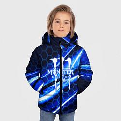 Куртка зимняя для мальчика MONSTER ENERGY цвета 3D-черный — фото 2