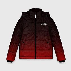 Куртка зимняя для мальчика Jeep спина Z цвета 3D-черный — фото 1