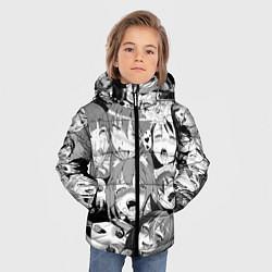 Куртка зимняя для мальчика СЕНПАЙ SENPAI цвета 3D-черный — фото 2