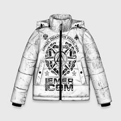 Куртка зимняя для мальчика RUSSIAN EMERCOM цвета 3D-черный — фото 1