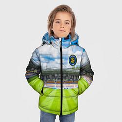 Детская зимняя куртка для мальчика с принтом FC INTER, цвет: 3D-черный, артикул: 10256804306063 — фото 2