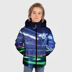 Куртка зимняя для мальчика FC MANCHESTER CITY цвета 3D-черный — фото 2