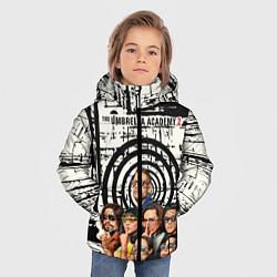 Куртка зимняя для мальчика The Umbrella Academy цвета 3D-черный — фото 2