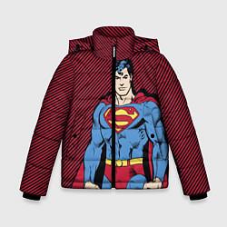 Куртка зимняя для мальчика I am your Superman - фото 1