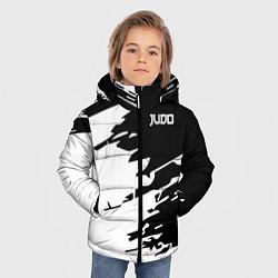 Куртка зимняя для мальчика Judo цвета 3D-черный — фото 2