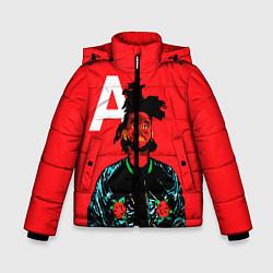Куртка зимняя для мальчика TheWeeknd цвета 3D-черный — фото 1