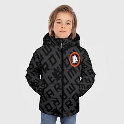 Куртка зимняя для мальчика AS Roma Top 202122 цвета 3D-черный — фото 2