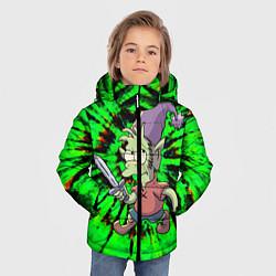 Куртка зимняя для мальчика ЭЛФО цвета 3D-черный — фото 2