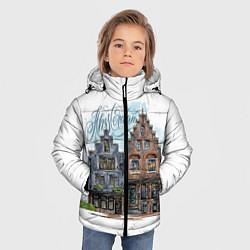 Куртка зимняя для мальчика Амстердам цвета 3D-черный — фото 2
