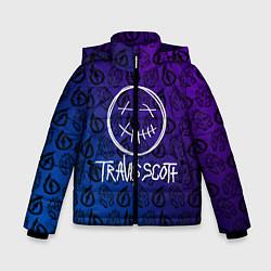 Куртка зимняя для мальчика TRAVIS SCOTT цвета 3D-черный — фото 1