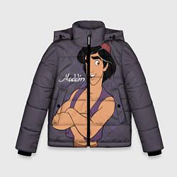 Куртка зимняя для мальчика Аладдин цвета 3D-черный — фото 1