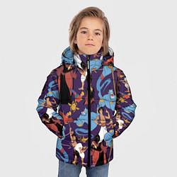 Куртка зимняя для мальчика Aladdin цвета 3D-черный — фото 2