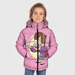 Куртка зимняя для мальчика Meow wow! цвета 3D-черный — фото 2
