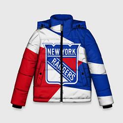 Куртка зимняя для мальчика Нью-Йорк Рейнджерс цвета 3D-черный — фото 1