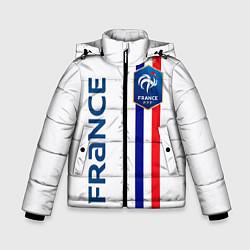 Куртка зимняя для мальчика СБОРНАЯ ФРАНЦИЯ цвета 3D-черный — фото 1