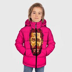 Куртка зимняя для мальчика ХАРДИ цвета 3D-черный — фото 2