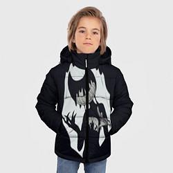 Куртка зимняя для мальчика Bendy And The Ink Machine цвета 3D-черный — фото 2