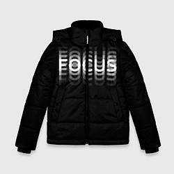 Куртка зимняя для мальчика Пьяный Z цвета 3D-черный — фото 1