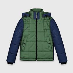 Куртка зимняя для мальчика Ниндзя NARUTO на спине цвета 3D-черный — фото 1