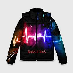 Куртка зимняя для мальчика DARKSIDERS ДАРКСАЙДЕРС S цвета 3D-черный — фото 1