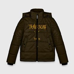 Куртка зимняя для мальчика Travis Scott LOGO цвета 3D-черный — фото 1