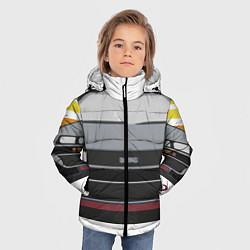 Куртка зимняя для мальчика Back to the Future цвета 3D-черный — фото 2