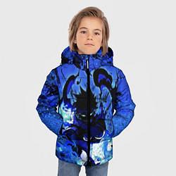 Детская зимняя куртка для мальчика с принтом Даби Моя геройская академия, цвет: 3D-черный, артикул: 10281871106063 — фото 2