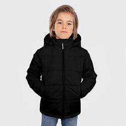 Куртка зимняя для мальчика ЧЁРНАЯ МАСКА цвета 3D-черный — фото 2