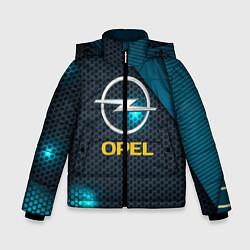 Куртка зимняя для мальчика OPEL ОПЕЛЬ цвета 3D-черный — фото 1
