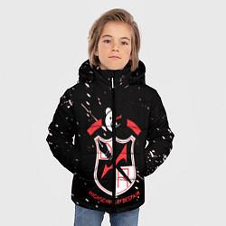 Куртка зимняя для мальчика Danganronpa цвета 3D-черный — фото 2