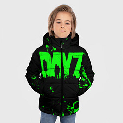 Детская зимняя куртка для мальчика с принтом Dayz, цвет: 3D-черный, артикул: 10287511106063 — фото 2
