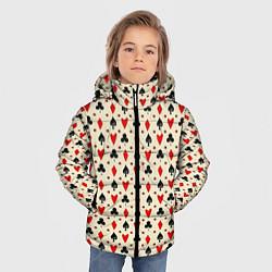 Куртка зимняя для мальчика Масти цвета 3D-черный — фото 2