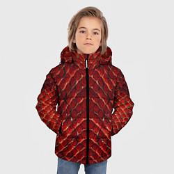 Куртка зимняя для мальчика Red Snake цвета 3D-черный — фото 2