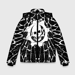 Куртка зимняя для мальчика GEARS OF WAR цвета 3D-черный — фото 1