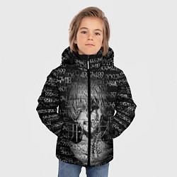 Куртка зимняя для мальчика Kaneki Ken 1000-7 цвета 3D-черный — фото 2