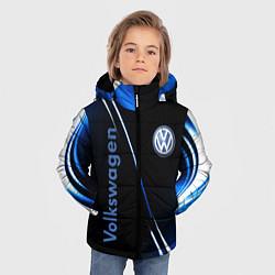 Куртка зимняя для мальчика VOLKSWAGEN цвета 3D-черный — фото 2