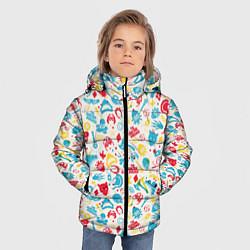 Куртка зимняя для мальчика The Suicide Squad цвета 3D-черный — фото 2