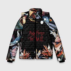 Куртка зимняя для мальчика Pink Floyd: The Wall цвета 3D-черный — фото 1