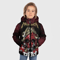 Куртка зимняя для мальчика Metallica: XXX - фото 2