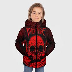 Куртка зимняя для мальчика BFMV: Red Skull цвета 3D-черный — фото 2