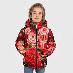 Детская зимняя куртка для мальчика с принтом Ассорти из цветов, цвет: 3D-черный, артикул: 10067033606063 — фото 2