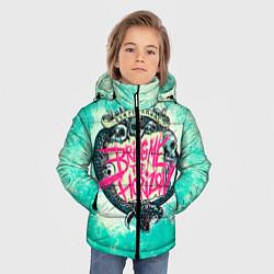 Куртка зимняя для мальчика BMTH: Sempiternal цвета 3D-черный — фото 2