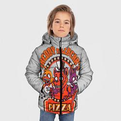 Куртка зимняя для мальчика Freddy Pizza цвета 3D-черный — фото 2