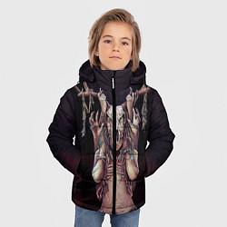 Куртка зимняя для мальчика Хранительница леса цвета 3D-черный — фото 2