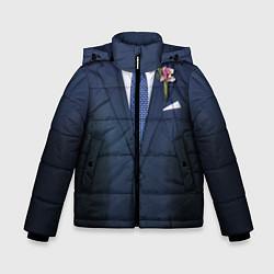 Куртка зимняя для мальчика Жених цвета 3D-черный — фото 1