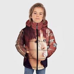 Куртка зимняя для мальчика J-Hope цвета 3D-черный — фото 2