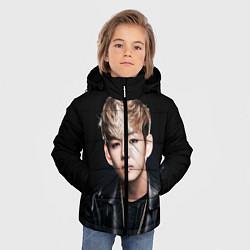 Детская зимняя куртка для мальчика с принтом Вишня, цвет: 3D-черный, артикул: 10076888006063 — фото 2