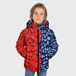 Куртка зимняя для мальчика Ягодка цвета 3D-черный — фото 2