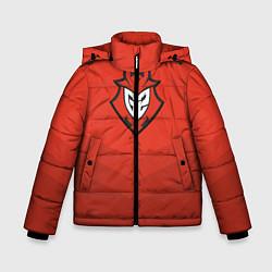 Куртка зимняя для мальчика G2 eSports Uniform цвета 3D-черный — фото 1